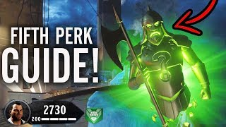 FREE 5TH PERK ON VOYAGE OF DESPAIR EASTER EGG GUIDE: NEW TENTACLE PERK DROP! (Black Ops 4 Zombies)