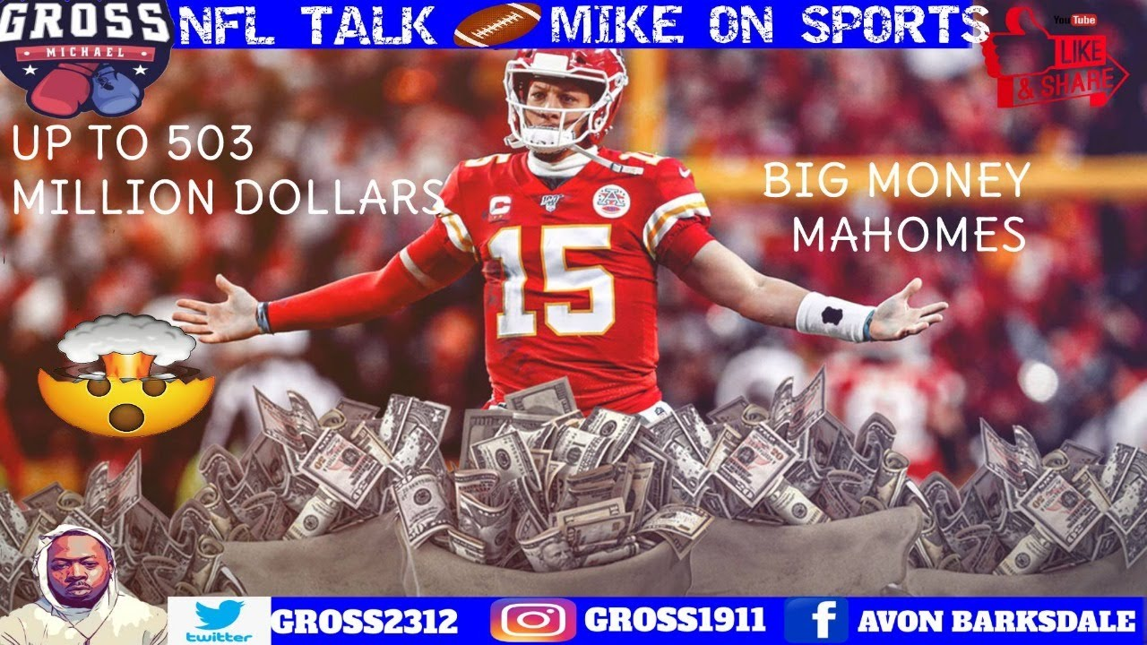 Patrick Mahomes' Monumental Contract Discussed in Sports ...