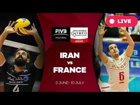 Iran v France - 2016 Men's World Olympic Qualification Tournament