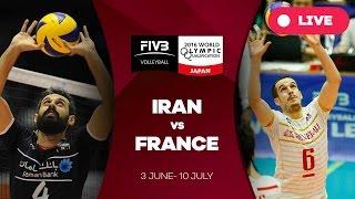 Iran v France - 2016 Men