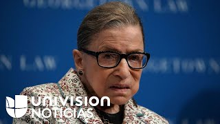¿Antes o después de las elecciones? Sigue la polémica por el reemplazo de Ruth Bader Ginsburg