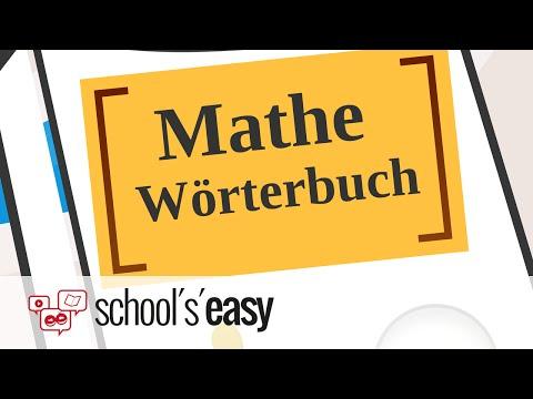 Mathe - Deutsch | Deutsch - Mathe | Fachbegriffe erklärt!