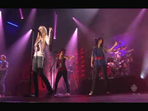 Avril Lavigne The Best Damn Thing Live @ Calgary