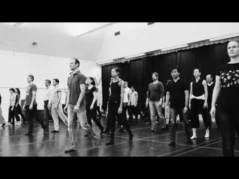 """Staatstheater Nürnberg Ballett ::: Goyo Monteros """"Monade"""" ::: Probenvideo"""