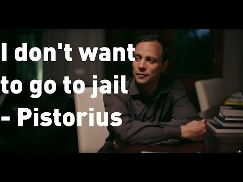 "Oscar Pistorius: ""I don't want to go back to jail"""