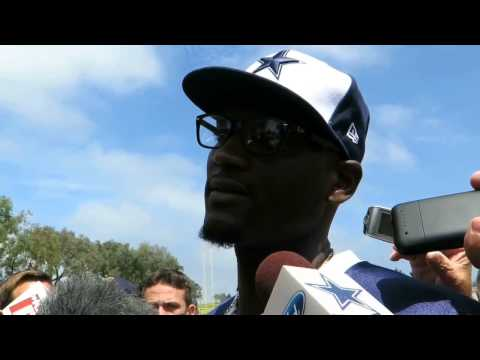 Cowboys Rolando McClain At Camp