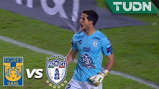 ¡Rey está impasable! | Tigres 0 - 0 Pachuca | Liga Mx - AP 19 - J18 | TUDN