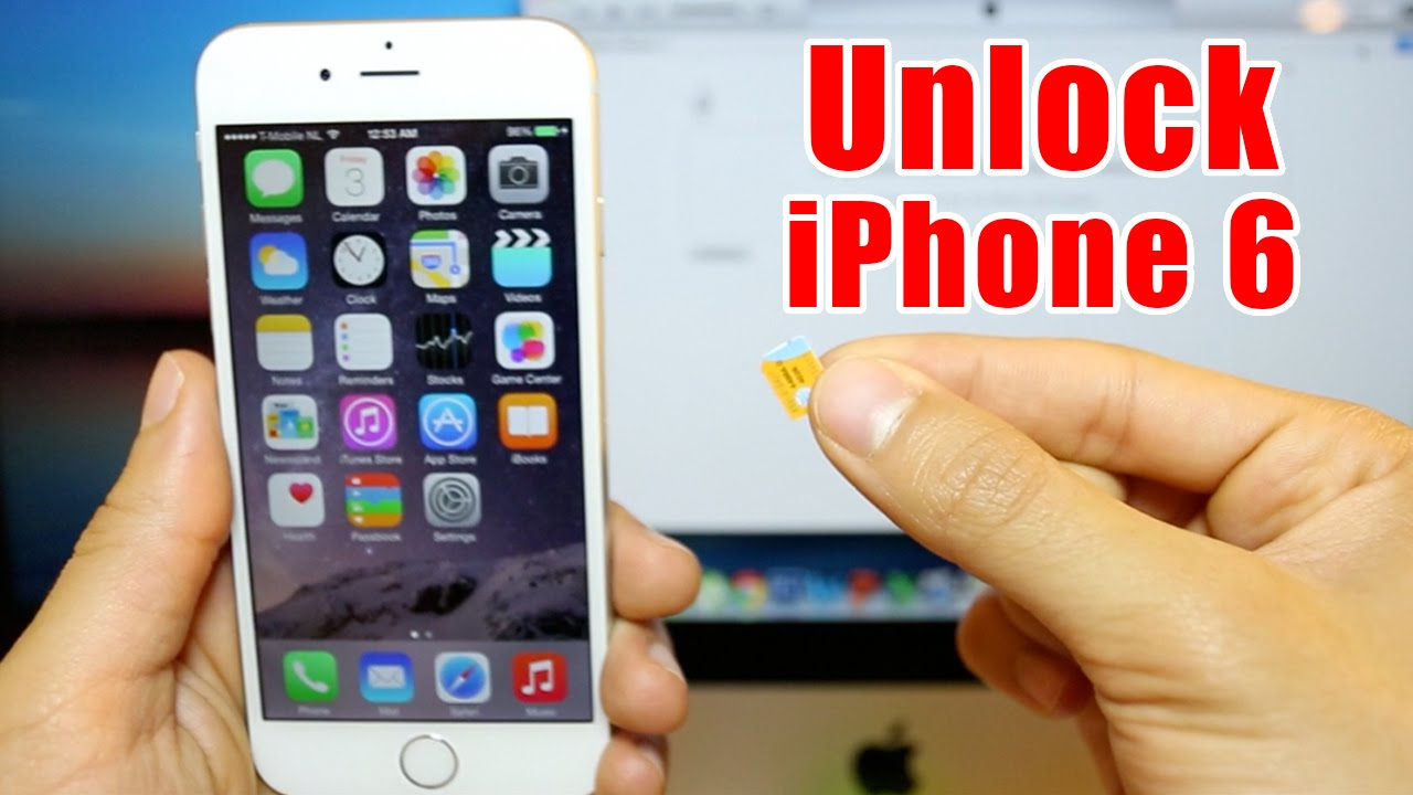 iphone 6 unlock code