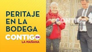 Caso Fernanda Maciel: Imágenes exclusivas de peritaje realizado en la bodega - Contigo en La Mañana