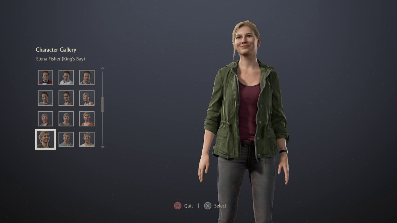 Complete Character Gallery In Uncharted 4 A Thief S End Youtube