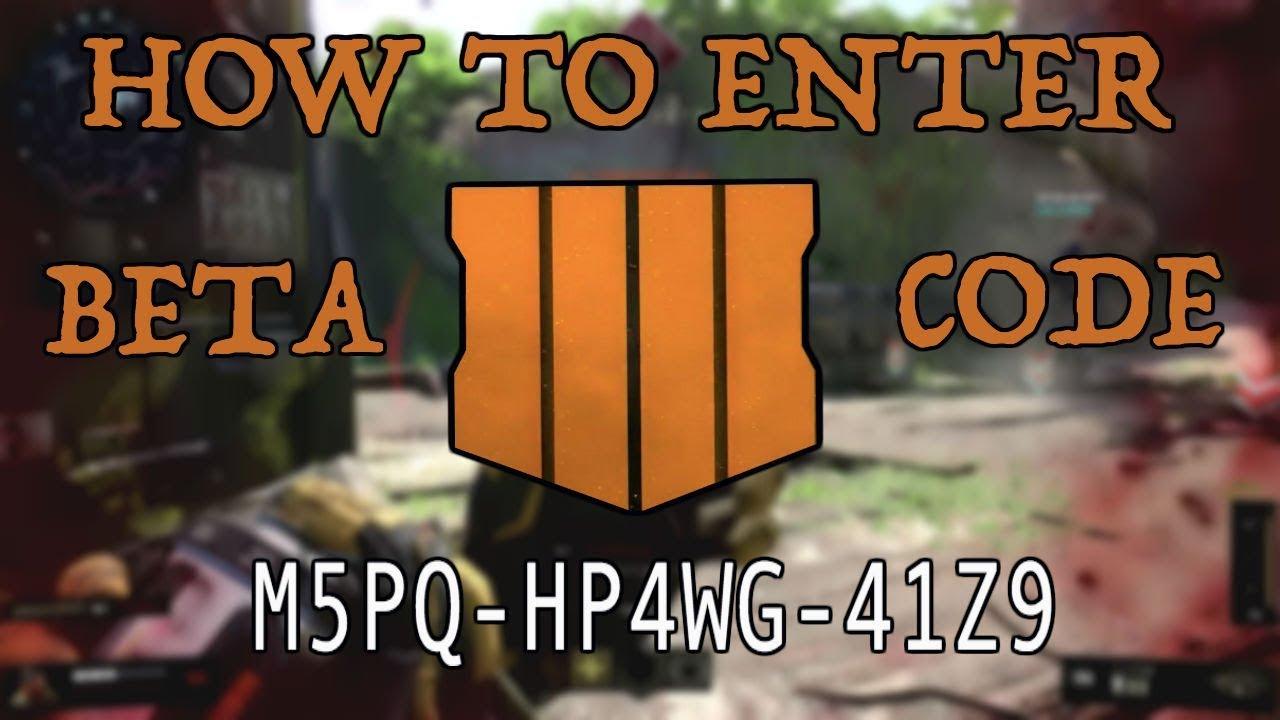 bo4 beta giveaway