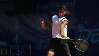 Rafael Nadal's FIRST TITLE - Sopot 2004 Final, Nadal - Acasuso (Highlights) HQ