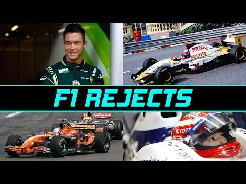 Formula 1 Rejects - Where Are They Now (Part 7)