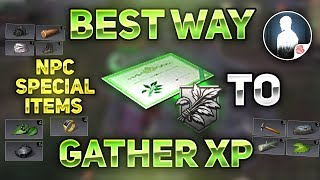 BEST AND FASTEST WAY TO GET GATHER XP! - NPC SPECIAL ITEMS GUIDE! - LifeAfter