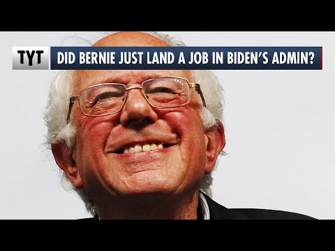 Bernie Sanders Lands a Job in the Joe Biden Administration?