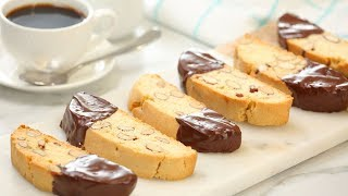 How To Make Biscotti | The Perfect Cookie with Coffee