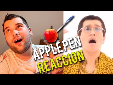 PPAP PEN PINEAPPLE APPLE PEN | Reaction