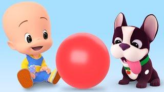 La Pelota - Aprende los colores con episodios y canciones infantiles de Cleo y Cuquín