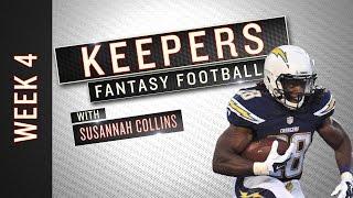 NFL Week 4 starts, sits and fantasy football advice
