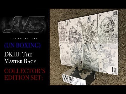 UNBOXING | DARK KNIGHT III: THE MASTER RACE COLLECTOR'S EDITION (SET)