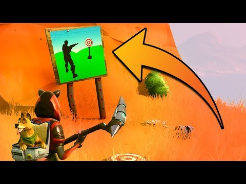 Fortnite: Shooting Gallery Locations (Wailing Woods, Retail Row, Paradise Palms)