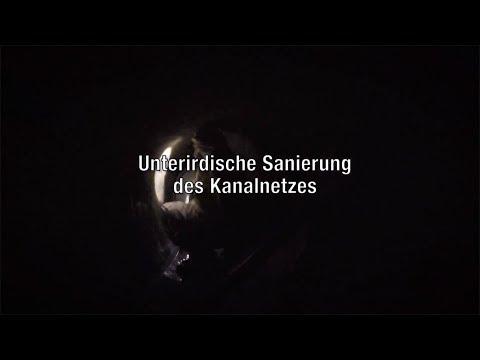 STRABAG AG - Kanaltechnik im Einsatz am Wiener Mexikoplatz