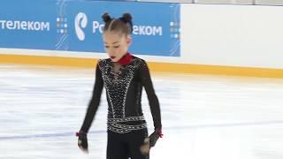 Софья Акатьева ПП - 229,62 - 1 место. Первенство России 2018. Младший возраст