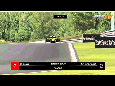 rFactor F1 2011 Formula SimRacing Broadcasts - Round 11 Hungary, Budapest