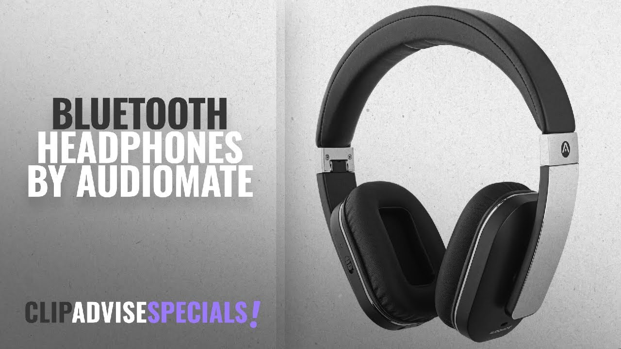 a57b8881569 Top 5 Audiomate Bluetooth Headphones [2018]: Audiomate BTNC152 ...