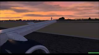 BAvirtual flight 2642, Landing at Thessaloniki Intl, Greece. FSX (HD)