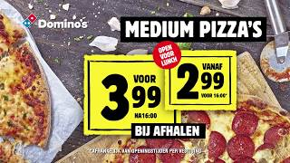 Domino's Stuntweek - Medium piz...