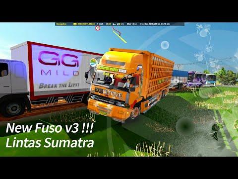 ets2 truck indonesia || Tes Road New Fuso v3 lintas sumatra
