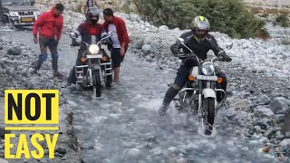 Nubra Valley to Pangong Lake | DANGEROUS WATER CROSSINGS | Leh Ladakh | Ep.06