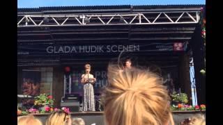 Tal av Kristina Wicksell på Hudik Pride 2014