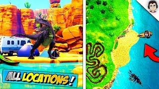ALL 5 *NEW* LEAKED SEASON 5 MAP LOCATIONS In Fortnite! LEAKED Season 5 Map Update In Fortnite