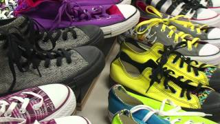Converse All-Star shoe collection is world