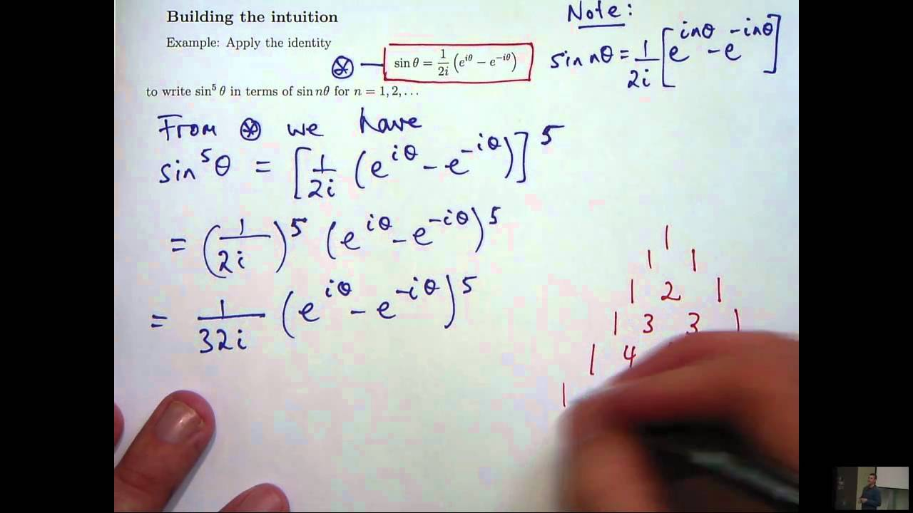 Complex numbers + trig identities - YouTube