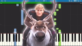 Lost In The Woods (Frozen 2) - EASY Piano Tutorial
