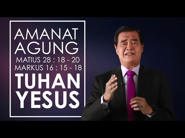 Pastor's Message Oktober 2019