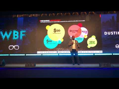 Wanchain on the World Blockchain Forum in Dubai, April 16th, 2018  #WBFDubai