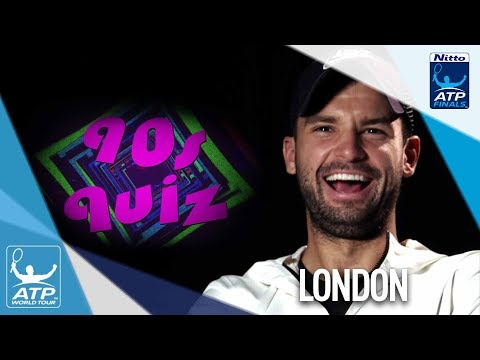 Dimitrov Federer Thiem Test 90s Knowledge Nitto ATP Finals 2017