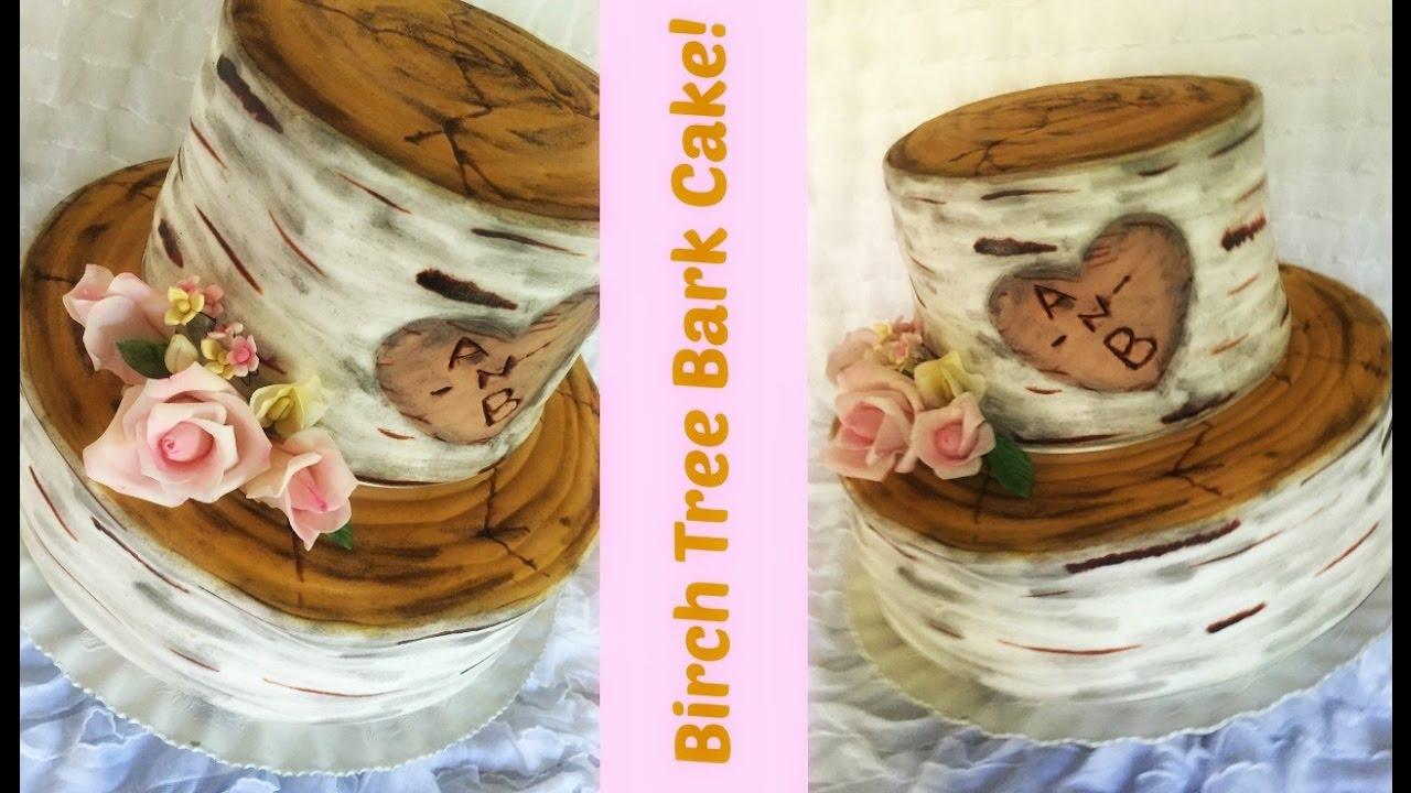 How To Make A Birch Bark Cake