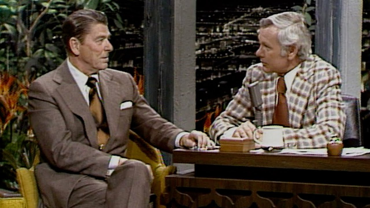 Ronald Reagan Interview on The Tonight Show Starring Johnny Carson - 01/03/1975 - Part 02