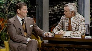 Ronald Reagan Interview on The Tonight Show Starring Johnny Carson  01/03/1975  Part 02