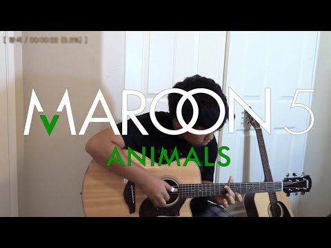 (Maroon 5) Animals - Fingerstyle Guitar Cover [TABS]