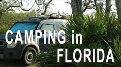 Florida Camping! Van Life on the Road
