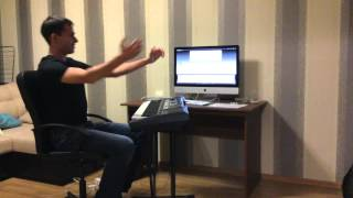 3-й урок на синтезаторе