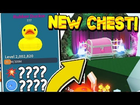 RAINFOREST UPDATE LEAK AND MYTHICAL DUCK HAT IN UNBOXING SIMULATOR! Roblox *2.5 SP DMG!* from YouTube · Duration:  13 minutes 8 seconds