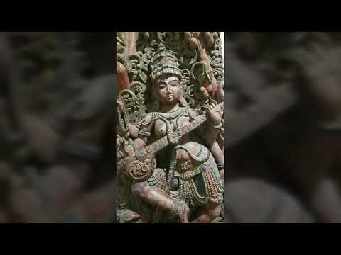 Ancient statues and carvings in stones and wood