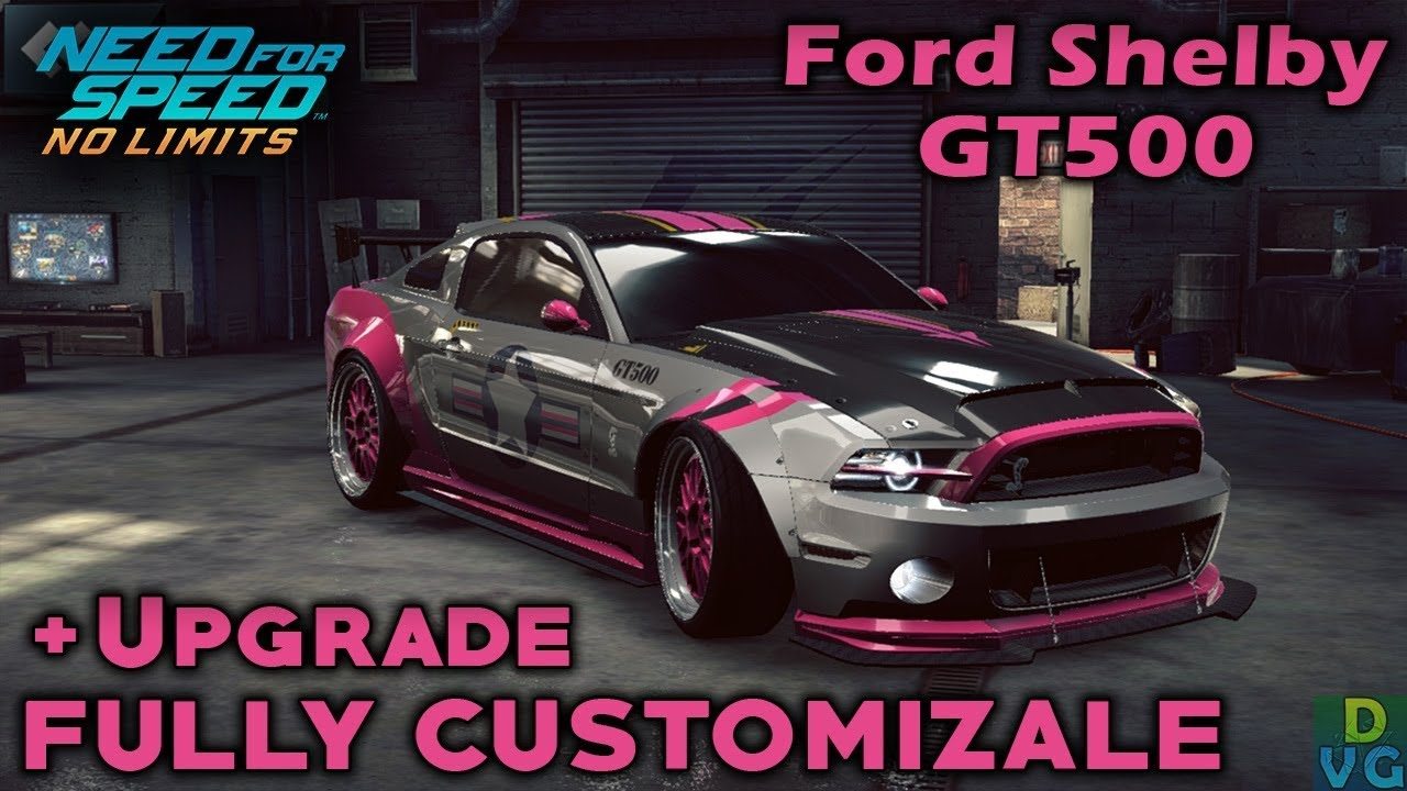 Nfs No Limits Ford Shelby Gt500 Fully Customizable Upgrade